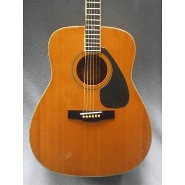 Gitara Yamaha FG420A '90r akustyczna+futerał+dodat