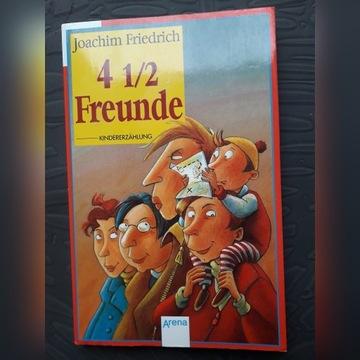 Czytaj po nemiecku: 4 1/2 Freunde