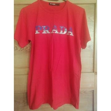 Prada t-shirt jak Nowy r. L