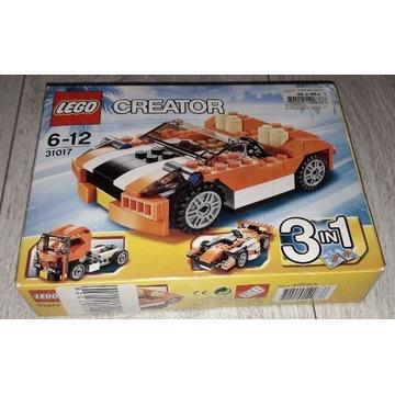 LEGO Creator 3w1 Sunset Speeder 31017