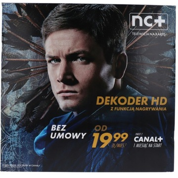 Dekoder Canal+ na Kartę 1m-c na start bez umowy