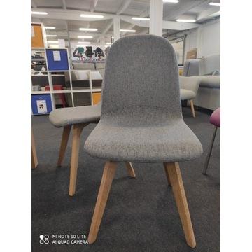 Krzesło Ares szary/dąb