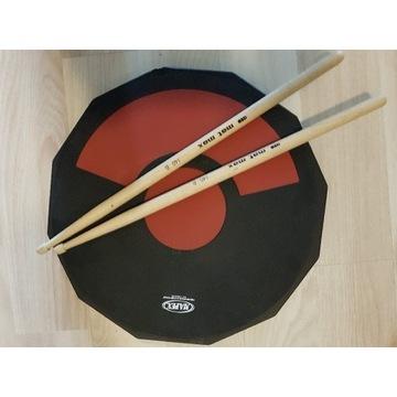 PAD Perkusyjny Ćwiczebny 12 Duży+ Pałeczki. MAPEX