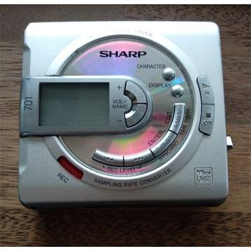 Odtwarzacz MiniDisc Sharp MD-MS701 - uszkodzony