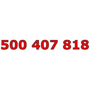500 407 818 ORANGE ŁATWY ZŁOTY NUMER STARTER