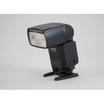 Lampa Canon Speedlite 580 EX II  + adapter RING