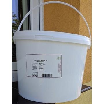chlorek magnezu sześciowodny 5kg czysty do analizy
