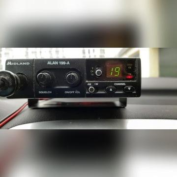 CB Radio Alan Midland +Antena na magnes