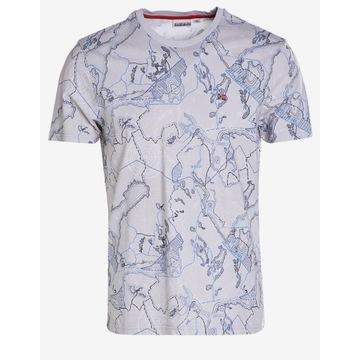Koszulka T-shirt Napapijri SUALE gray r. M, XL