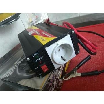 Przetwornica napięcia z 12V na 230V o mocy 500W