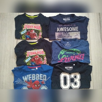 T-shirt bluzka koszulka długi rękaw roz 110
