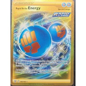 Rapid Strike Energy 182/163 GOLD battle styles