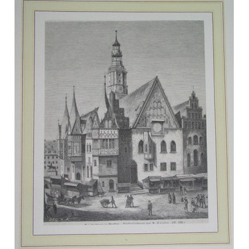 1862 ORYGINAŁ WROCŁAW Breslau ŚLĄSK rzadka