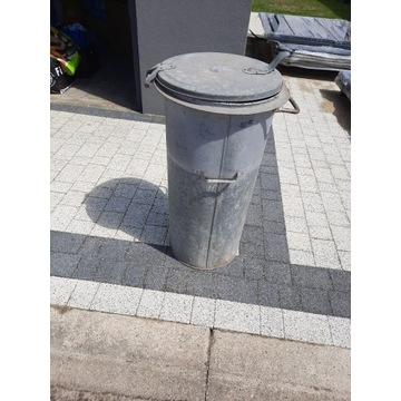 Kubeł na śmieci metalowy
