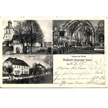 Gorzanów, (Grafenort),