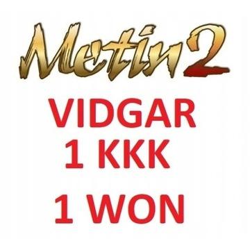 METIN2 VIDGAR 1kkk 1 won YANG vidgar.pl OD FIRMY