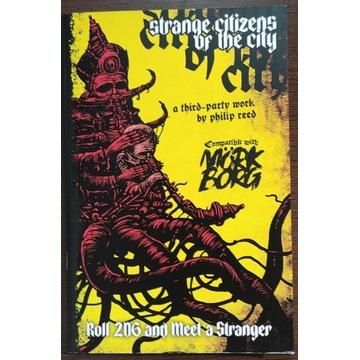 Strange Citizens of the City - Mork Borg nowy