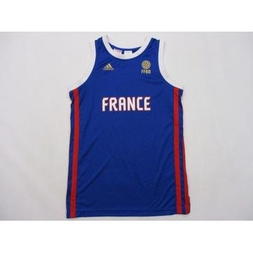 Adidas FFBB koszulka 164 M