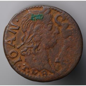 Nr 16 - szeląg koronny 1663