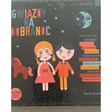 Audio książka dla dzieci mp3 -Gwiazdy na dobranoc