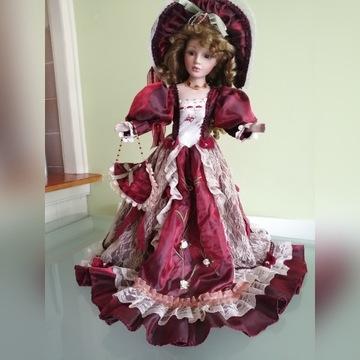 sygnowana porcelanowa lalka Jolande