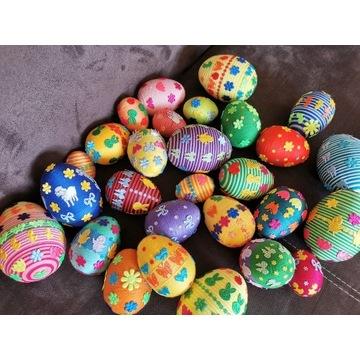 Jajka pisanki rękodzieło ozdoby wielkanocne
