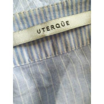 Uterqüe piękna koszula bufiaste rękawy kimono