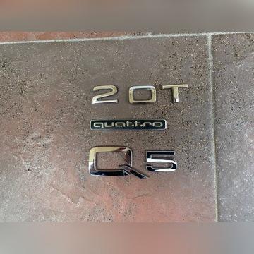 Emblemat znaczek q5 Quatrro OEM klapa