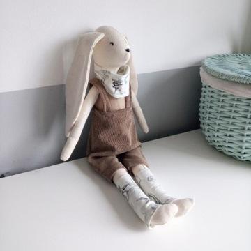 Lalka handmade, królik handmade,królik dla chłopca