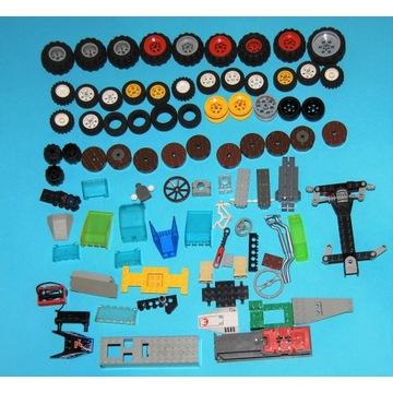 Lego koła i części do pojazdów