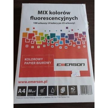 Papier biurowy kolorowy 100 arkuszy