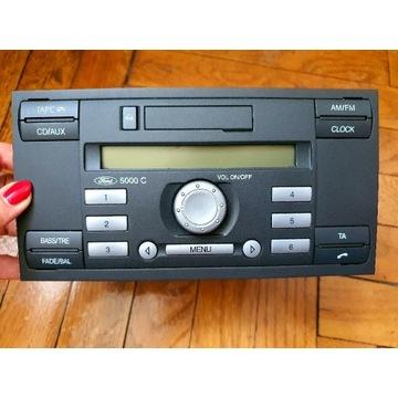 Radio z kodem ford 5000c sprawne