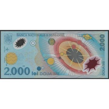 Rumunia 2000 lei 1999 - polimer - stan UNC