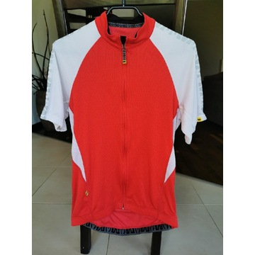 Męska koszulka rowerowa Mavic. Rozmiar M.