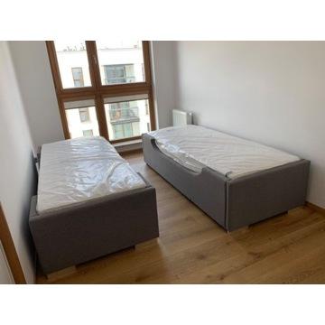 Łóżko, stelaż i materac 80x200