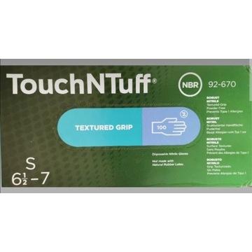 Ansell Rękawiczki nitrylowe TouchNTuff rozmiar S