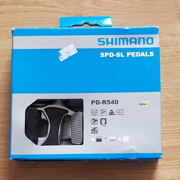 Pedały SPD Shimano