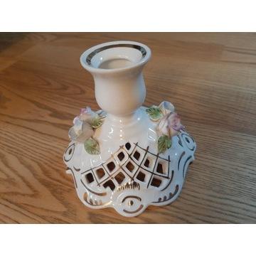 Świecznik porcelanowy na środek stołu FENA