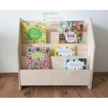 Biblioteczka dla dzieci Montessori