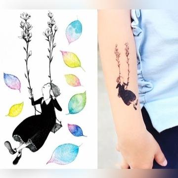 Tatuaż tymczasowy kolorowy FAKE TATTOO COLOR