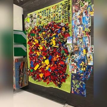 Klocki lego mix system city 15 kg 100 ludzików