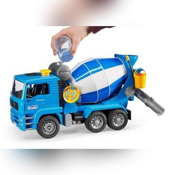 Model MAN betoniarka, plastikowy