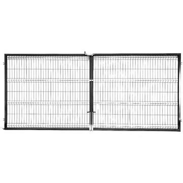 Brama dwuskrzydł. panelowa 3d 1700x4000 fi 4 DOWÓZ