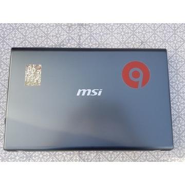 Laptop MSI CX702QF okazja.
