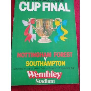 Program z meczu Nottingham Forest - Southampton