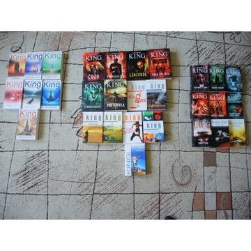 Stephen King,Mroczna wieża,pakiet,horror,komplet