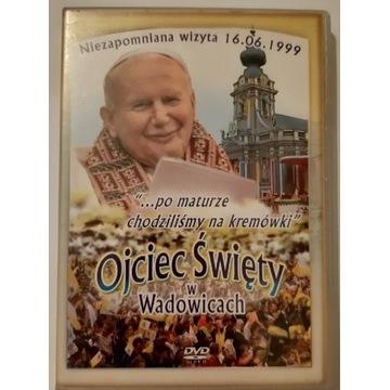 Ojciec Święty w Wadowicach film DVD 1999 wizyta