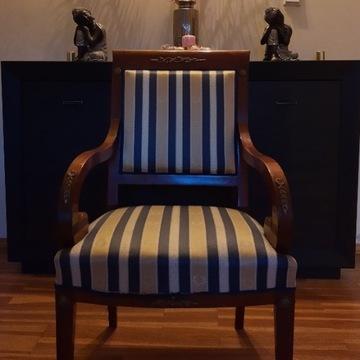 fotel; antyk; *krzesło*kanapa*Empire; sofa;