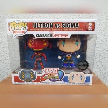 Figurka Funko Pop: Ultron vs Sigma - Marvel 2pack