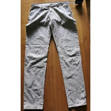 Spodnie Armata Di Mare ładne beżowe z elastanemR34